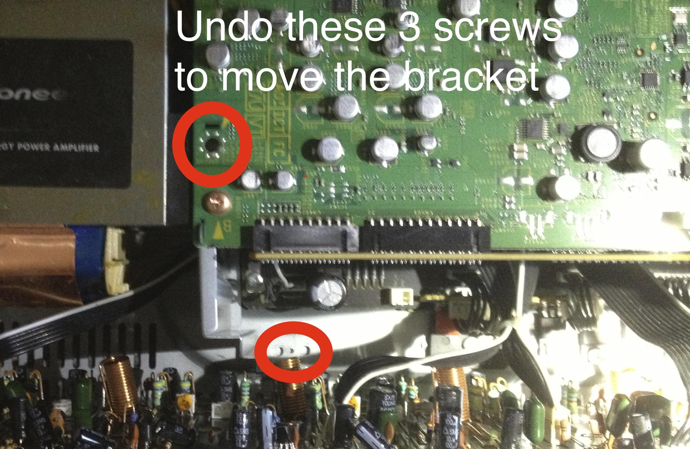 bs_labs: Fixing AMP OVERHEAT error on the Pioneer VSX 1020
