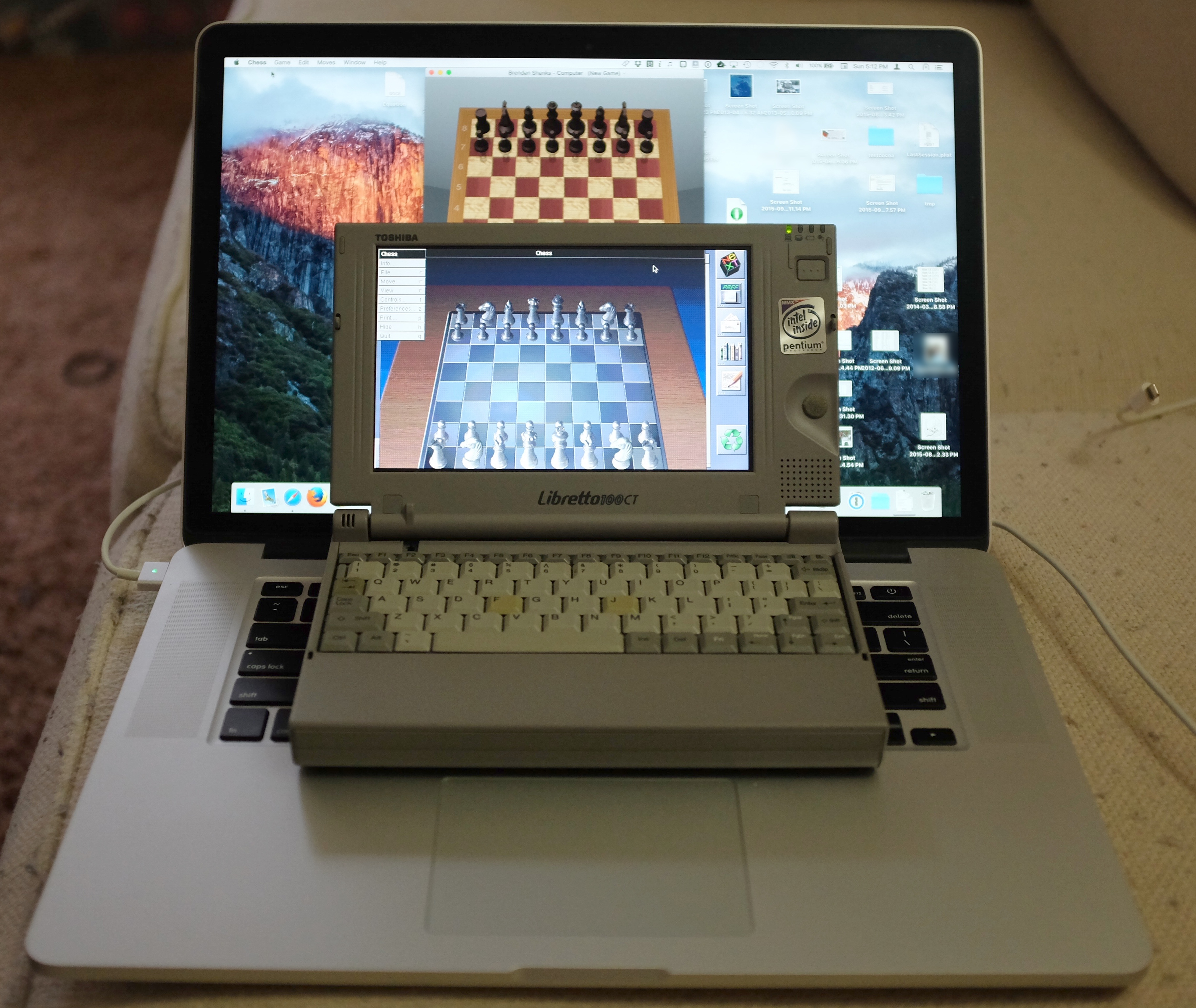Chess.app on OS X and OPENSTEP