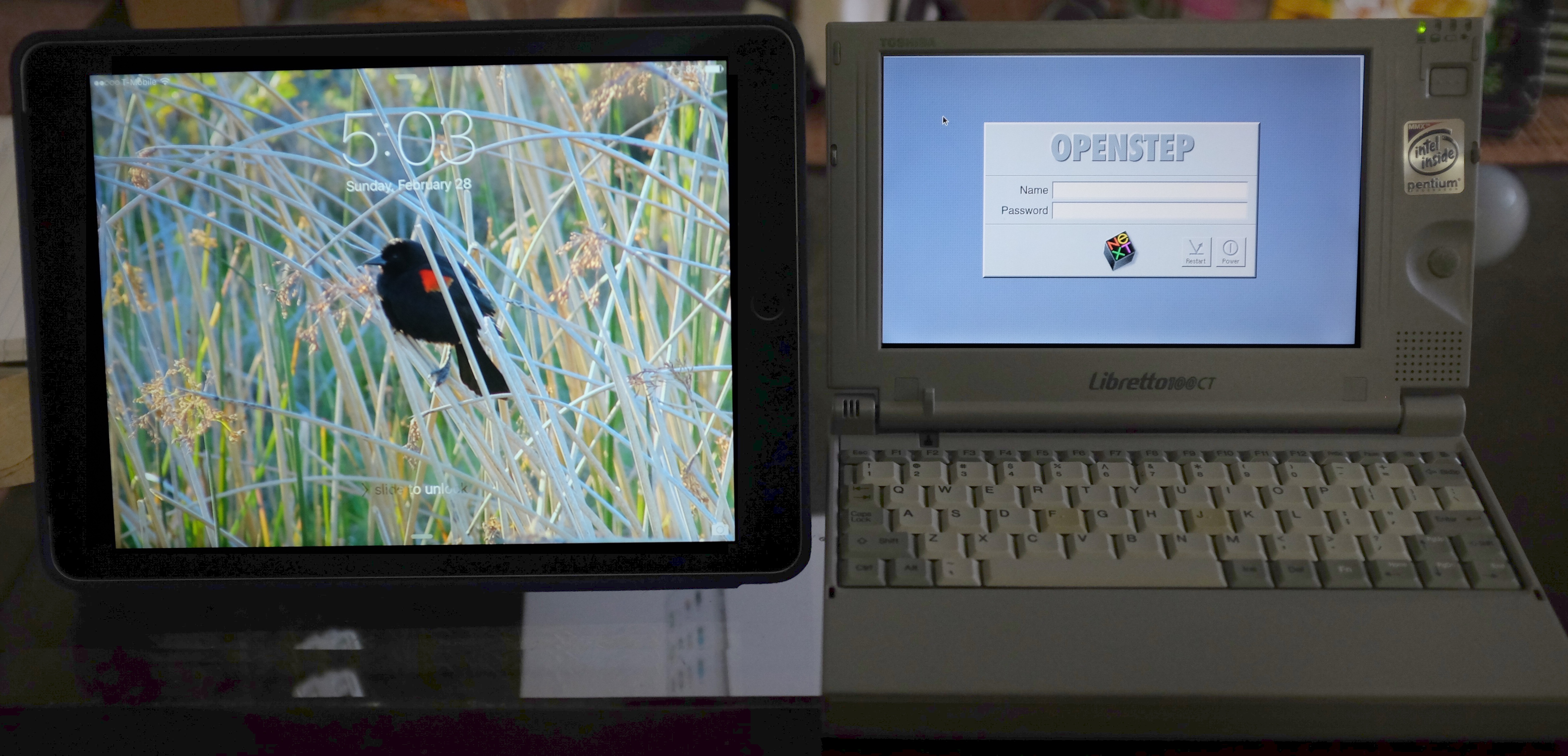 Libretto with iPad Air 2