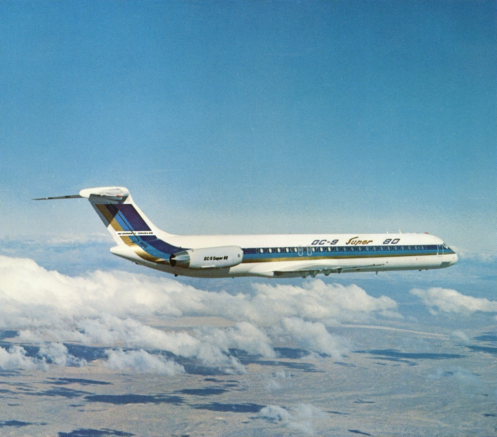 The McDonnell-Douglas DC-9 Super 80
